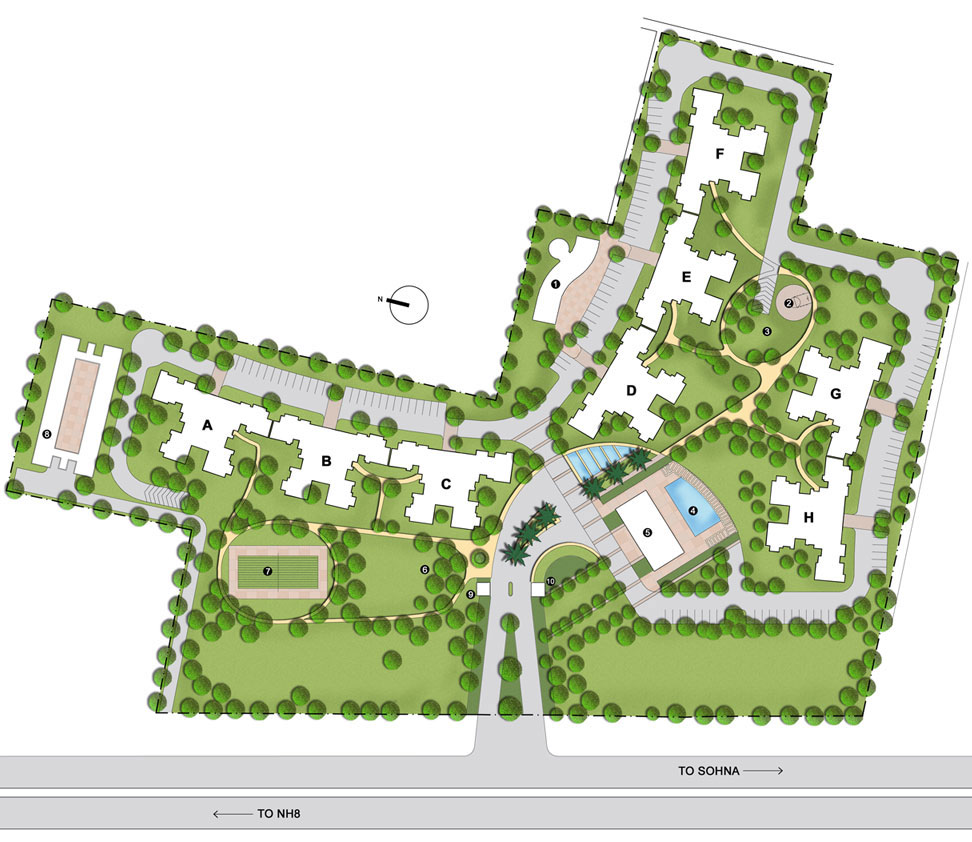 Real estate gurgaon projects park view city ii for View plans